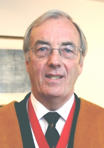 Dr David S Moore OBE, Past Master 2006/7