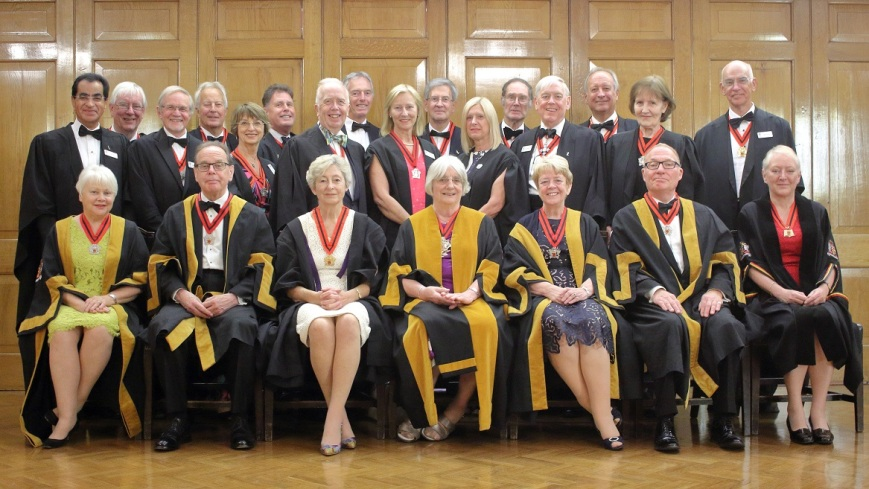 Master Elisabeth Goodwin and Court of Assistants 29 June 2018