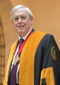 Photo of Mr Peter Williams CBE, Past Master Educator 2014/15